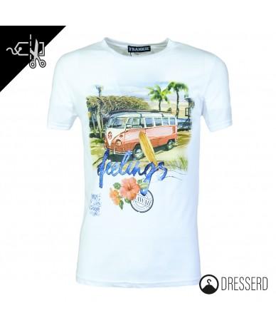 T-shirt uomo stampa estiva