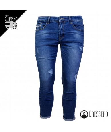 Pantalone di jeans lungo da...