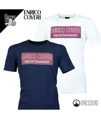 T-Shirt ENRICO COVERI Uomo...