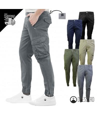 Pantalone Cargo Uomo Con...