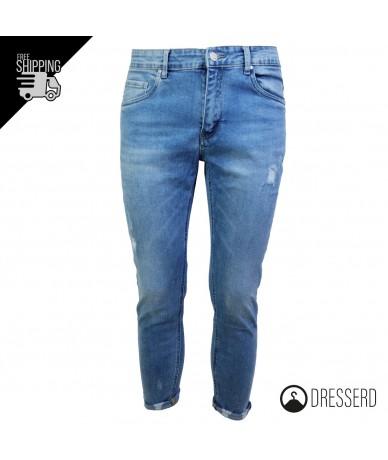 Jeans Uomo con strappi Slim...