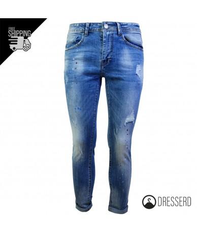 Jeans Uomo Pantalone...