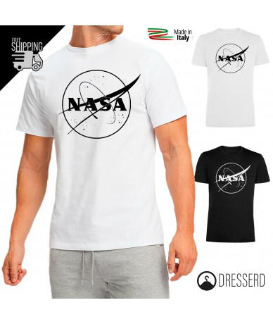T-Shirt Stampo NASA 100%...