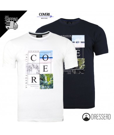 T-Shirt Uomo COVERI Regular...