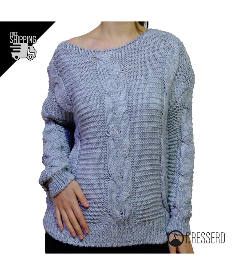 Maglione con trecce | RiKamo